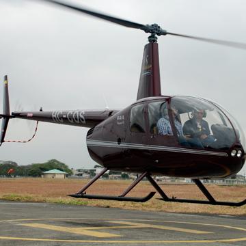 Entrenamiento de Helicóptero